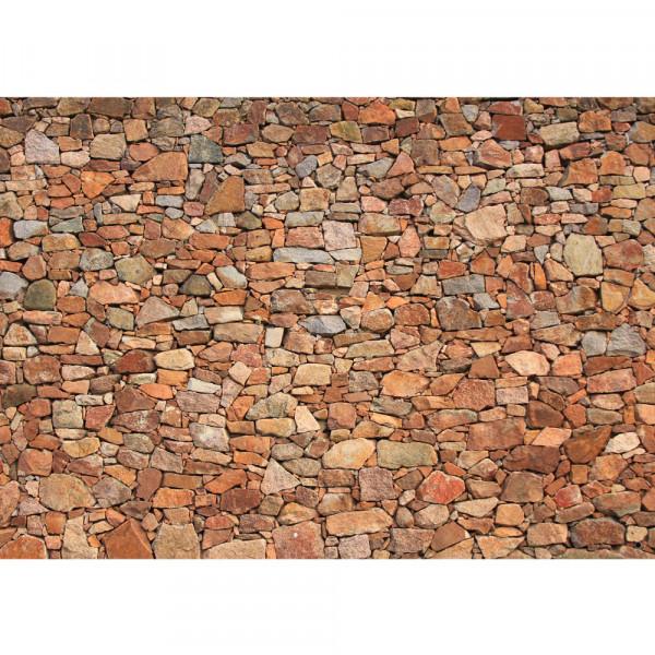 Vlies Fototapete Steinwand Tapete Steinwand Steinoptik Steine Wand Mauer  Steintapete beige