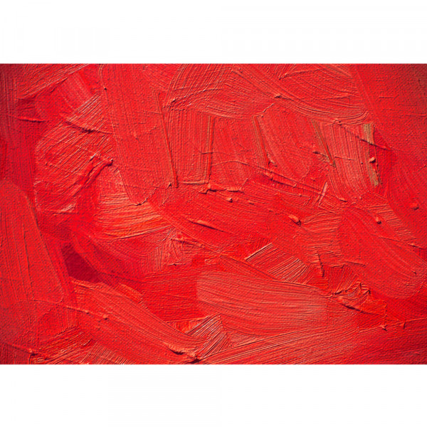 Vlies Fototapete Wall of red shades Kunst Tapete Wand Spachtel Hintergrund farbige Wand rot rot