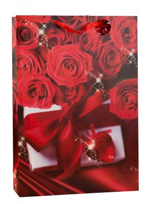 Huge XXL gift bag Rosendesign Love in a set of 2 dimensions 50x72x16cm