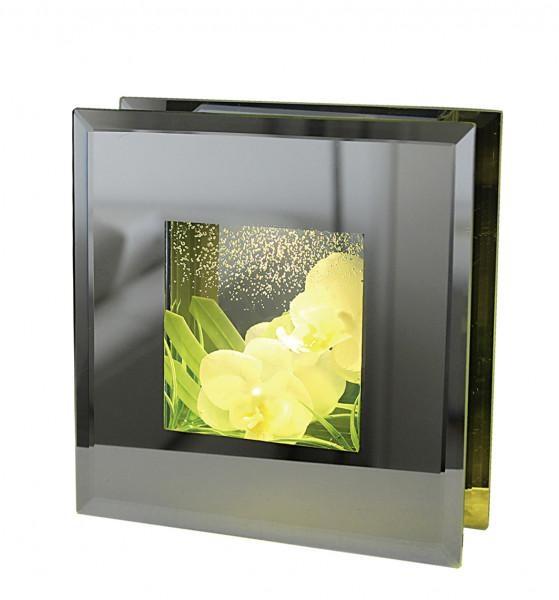 "LED Rahmen Frames Smart ""White Lady"" warmweißes Licht inklusive 2 Knopfzellen 16x16 cm"