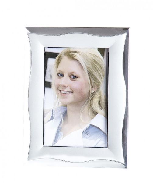 Moderner Bilderrahmen Fotorahmen aus Aluminium silber 10x15 cm