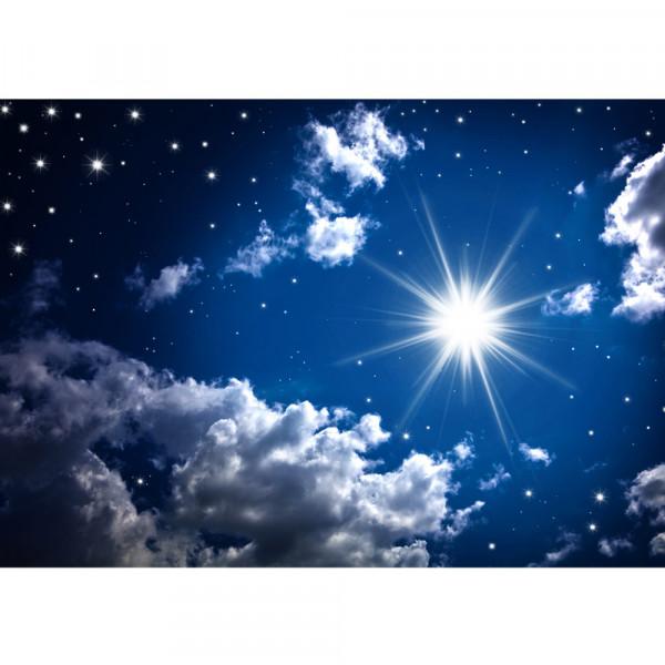 Vlies Fototapete Romantic Stars Sternenhimmel Tapete Sternenhimmel Stars Sterne Leuchtsterne