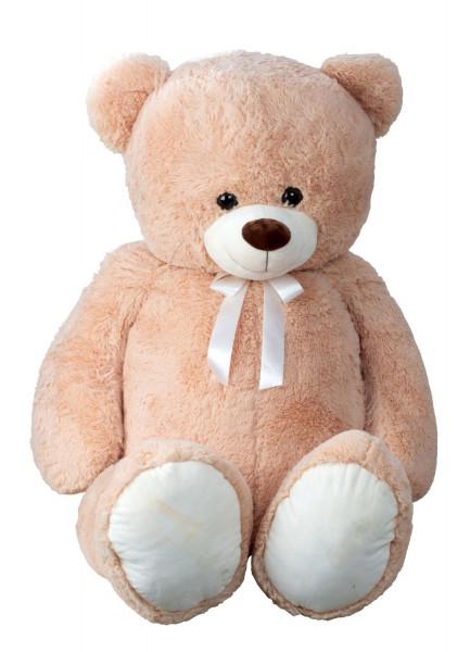 Giant teddy bear cuddly bear XXL 150 cm tall brown plush bear cuddly toy velvety soft