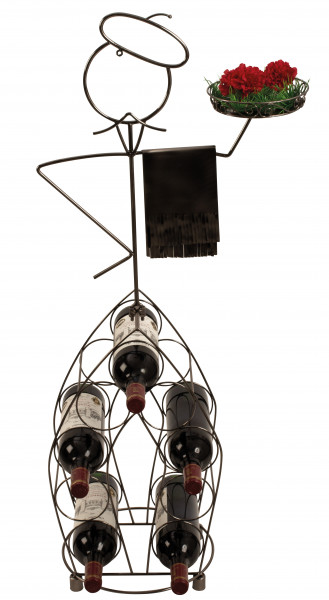 Modern and huge wine bottle stand waiting tables height 99 cm