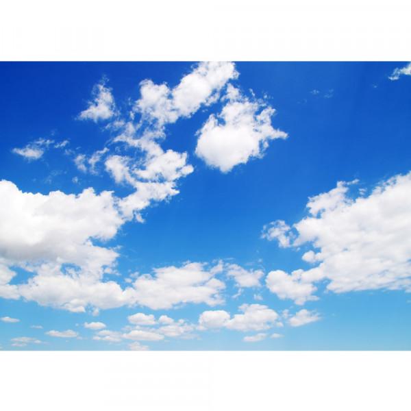 Vlies Fototapete Himmel Tapete Himmel Wolken Blau Romantisch Urlaub blau