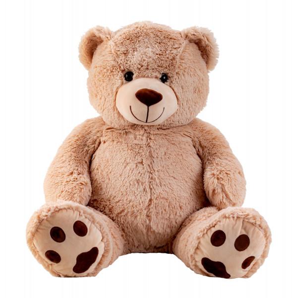 Riesen Teddybär Kuschelbär XXL 100 cm groß Plüschbär Kuscheltier samtig weich - zum liebhaben