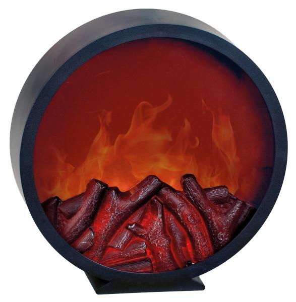 LED Wandkamin Tischkamin Kamin LED elektrisch inklusive Fernbedienung mit realistischer Flammensimul