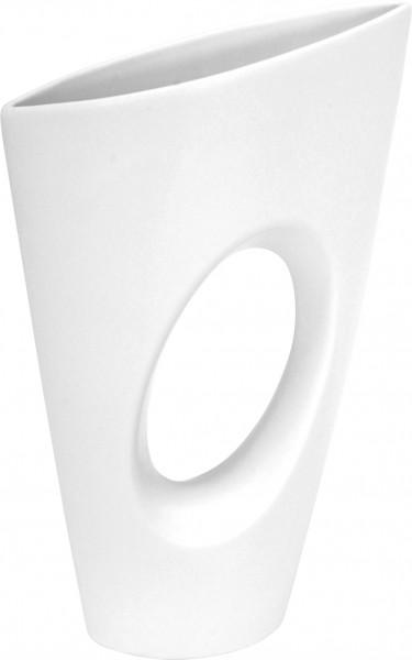 Modern Deco vase flower vase table vase Vito ceramic white with hole height 34 cm * 1 piece *