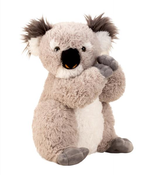 Cuddly soft Koala bear to love in gray Height 40 cm