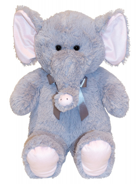Cuddly elephant Cuddly toy 60 cm tall Plush bear velvety soft - to love