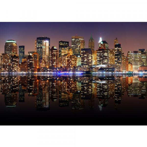 Vlies Fototapete New York Lights Skyline USA Tapete New York City USA Empire State Building