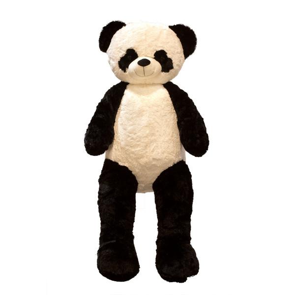 Riesen Teddybär Panda Pandabär Kuschelbär XXL 150 cm groß Plüschbär Kuscheltier samtig weich - zum l