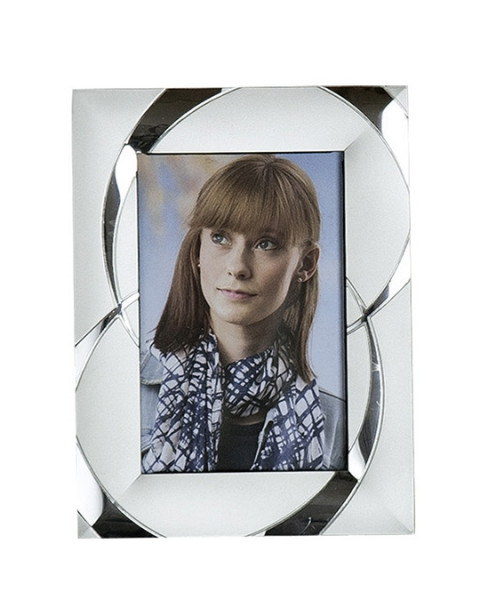 Modern picture frame photo frame made of aluminum silver 13x18 cm