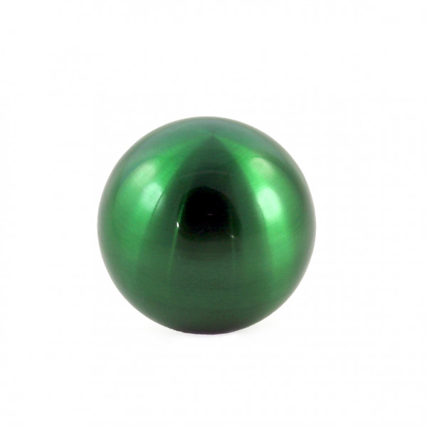 Decorative garden ball decorative ball green stainless steel diameter 15 cm