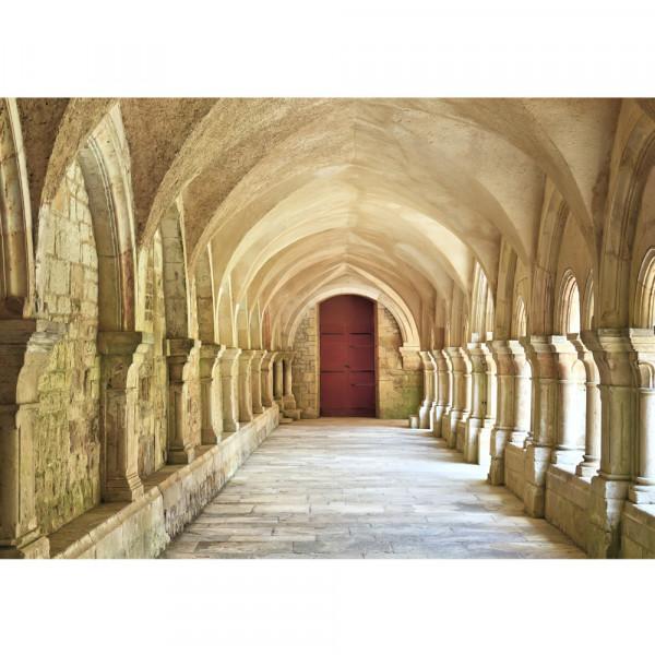 Vlies Fototapete Colonnaded Arcades Architektur Tapete Arkaden 3D Perspektive Gewölbe Säulen