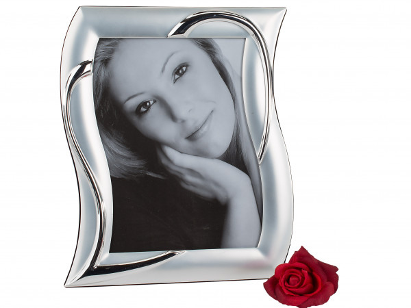 Photo picture Frame silver made of aluminium 15x20 cm