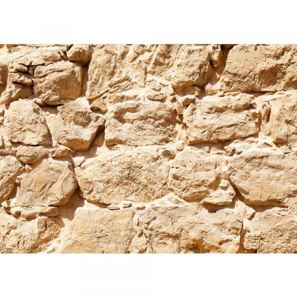 Vlies Fototapete Rock Stone Wall Steinwand Tapete Steinwand Steinoptik Stein Steine Wand Wall beige