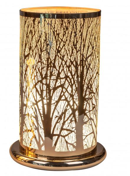 Weihnachtliche Tischleuchte Nachttisch-Leuchte für Schlafzimmer Wohnzimmer oder Esszimnmer mit Berüh